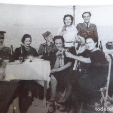 Militaria: FOTOGRAFÍA ALFÉRECES PROVISIONALES DEL EJÉRCITO NACIONAL. MÁLAGA 5-1939. Lote 254383615