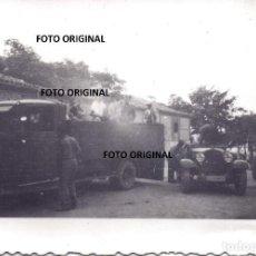 Militaria: TRASLADO PRISIONEROS REPUBLICA ZONA LLANES ASTURIAS LEGION CONDOR GUERRA CIVIL. Lote 254575635
