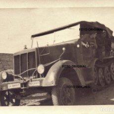Militaria: SEMI-ORUGA SD KFZ 7 TRANSPORTE TROPAS LEGION CONDOR GUERRA CIVIL ESPAÑOLA. Lote 254768795