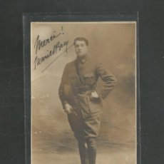 Militaria: FOTOGRAFIA MILITAR SOLDADO FRANCES FECHADA EN 1916 (ORIGINAL). Lote 254924165