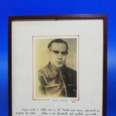 Militaria: FOTOGRAFIA DANIEL ORTEGA. MEDICO. PRESIDENTE DEL PARTIDO COMUNISTA Y DIPUTADO. PTO. STA. Mª. 1936.. Lote 256156200