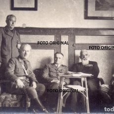 Militaria: CASINO PALENCIA ESTADO MAYOR SANIDAD ITALIANO CTV 1937 GUERRA CIVIL. Lote 257395035