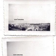 Militaria: 2X FOTOS VISTAS SANTANDER FRENTE NORTE SEPTIEMBRE 1937 GUERRA CIVIL LEGION CONDOR. Lote 257573315