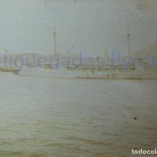 Militaria: FOTOGRAFÍA ANTIGUA. LAS PALMAS DE G.C. VISITA DE ALFONSO XIII. AÑO 1906 (9 X 6,5 CM). Lote 257599175
