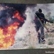 Militaria: FOTOGRAFÍA GRAN TAMAÑO GUERRILLERO COE GOE MOE BOEL BOINAS VERDES. Lote 260378705