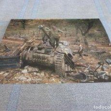 Militaria: COPIA DE FOTO MATE (11 X 15) CON ESCENAS DE LA SEGUNDA GUERRA MUNDIAL. Lote 261263875