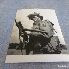 Militaria: COPIA DE FOTO MATE (11 X 15) CON ESCENAS DE LA SEGUNDA GUERRA MUNDIAL. Lote 261264195
