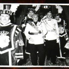 Militaria: FOTOGRAFIA DEL GENERAL FRANCO EN LA APERTURA DE LAS CORTES ESPAÑOLAS, FOTO ZEGRI, MADRID 17 DE MARZO. Lote 261362635