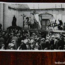 Militaria: FOTOGRAFIA DEL GENERAL FRANCO EN VISITA A ZAMORA, SEMANA SANTA, ABRIL DE 1943, FOTO ZEGRI, MADRID, M. Lote 261522795