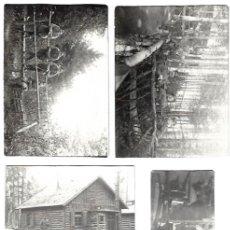 Militaria: 12 FOTOS OFICIALES ALEMANES EN FRENTE ORIENTAL 1915.. Lote 261791650