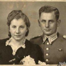 Militaria: ORIGINAL DE EPOCA - III REICH - SOLDADO ALEMAN HEER - NAZI SOLDUCH WEHRMACH - 140 X 90 MM. Lote 261832240