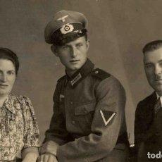 Militaria: ORIGINAL DE EPOCA - III REICH - SOLDADO ALEMAN HEER - NAZI SOLDUCH WEHRMACH - 140 X 90 MM. Lote 261832325