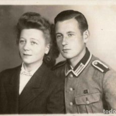 Militaria: ORIGINAL DE EPOCA - III REICH - SOLDADO ALEMAN HEER - NAZI SOLDUCH WEHRMACH 140 X 90 MM FOTO ESTUDIO. Lote 261832625