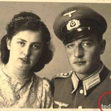 Militaria: ORIGINAL DE EPOCA - III REICH - SOLDADO ALEMAN HEER - NAZI SOLDUCH WEHRMACH 140 X 90 MM FOTO ESTUDIO. Lote 261832740