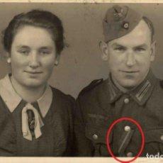Militaria: ORIGINAL DE EPOCA - III REICH - SOLDADO ALEMAN HEER - NAZI SOLDUCH WEHRMACH 140 X 90 MM. Lote 261833085