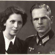 Militaria: ORIGINAL DE EPOCA - III REICH - SOLDADO ALEMAN HEER - NAZI SOLDUCH WEHRMACH 140 X 90 MM FOTO ESTUDIO. Lote 261833290