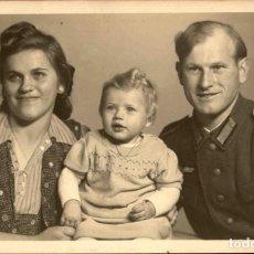 Militaria: ORIGINAL DE EPOCA - III REICH - SOLDADO ALEMAN HEER - NAZI SOLDUCH WEHRMACH 140 X 90 MM FOTO ESTUDIO. Lote 261833370