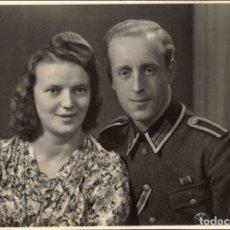Militaria: ORIGINAL DE EPOCA - III REICH - SOLDADO ALEMAN HEER NAZI SOLDUCH WEHRMACH 150 X 100 MM FOTO ESTUDIO. Lote 261833530
