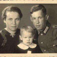 Militaria: ORIGINAL DE EPOCA - III REICH - SOLDADO ALEMAN HEER NAZI SOLDUCH WEHRMACH 150 X 100 MM FOTO ESTUDIO. Lote 261833730