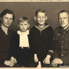 Militaria: ORIGINAL DE EPOCA - III REICH - SOLDADO ALEMAN HEER NAZI SOLDUCH WEHRMACH 150 X 100 MM FOTO ESTUDIO. Lote 261833765
