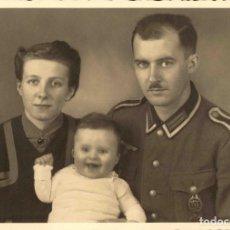 Militaria: ORIGINAL DE EPOCA - III REICH - SOLDADO ALEMAN HEER NAZI SOLDUCH WEHRMACH 150 X 100 MM FOTO ESTUDIO. Lote 261834125