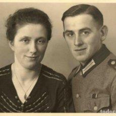 Militaria: ORIGINAL DE EPOCA - III REICH - SOLDADO ALEMAN HEER NAZI SOLDUCH WEHRMACH 150 X 100 MM FOTO ESTUDIO. Lote 261834160