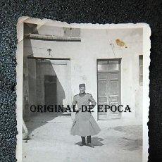 Militaria: (JX-210512) FOTOGRAFIA DE LA GUARDIA MORA DE FRANCO ,MEDIDAS 7,50 CM X 6,00 CM .. Lote 262082175