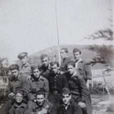 Militaria: FOTOGRAFÍA SOLDADOS AVIACIÓN REPUBLICANA BASE DE HIDROAVIONES ATALAYÓN. 1933. Lote 263194400