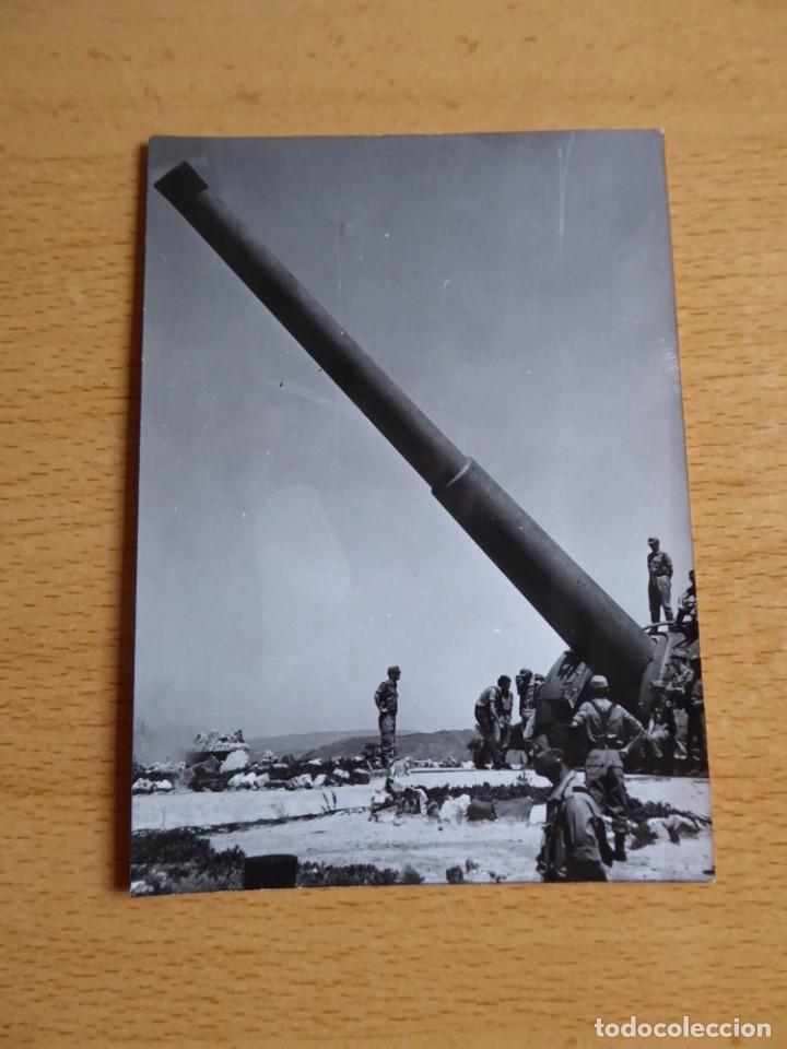 Militaria: Fotografía soldados del ejército español. Batería de costa - Foto 2 - 264978374