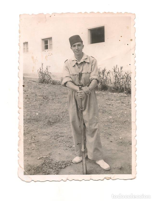 SOLDADO DE REGULARES EN SIDI IFNI EN LOS AÑOS 40/50 (Militar - Fotografía Militar - Otros)