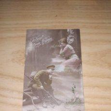 Militaria: POSTAL. PRIMERA GUERRA MUNDIAL, ENVIADA DESDE EL FRENTE (19 SEPTIEMBRE 1916). Lote 265659969