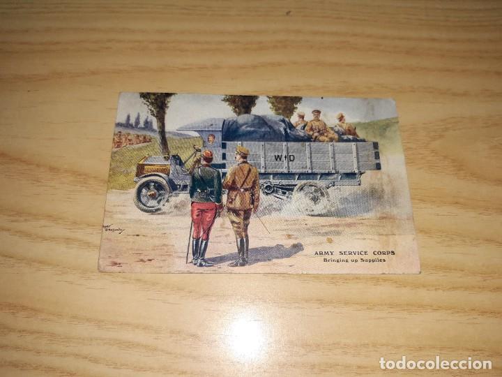POSTAL. PRIMERA GUERRA MUNDIAL, ENVIADA AL FRENTE (25 MAYO 1917) (Militar - Fotografía Militar - I Guerra Mundial)