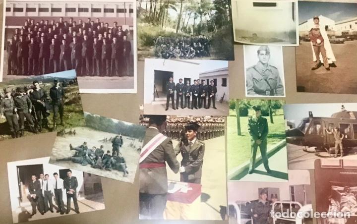 LOTE 14 FOTOGRAFIAS ANTIGUAS MILITAR MILI SOLDADO EJERCITO COLOR BLANCO NEGRO HOMBRE ARMADA (Militar - Fotografía Militar - Otros)