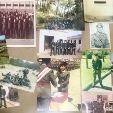 Militaria: LOTE 14 FOTOGRAFIAS ANTIGUAS MILITAR MILI SOLDADO EJERCITO COLOR BLANCO NEGRO HOMBRE ARMADA. Lote 266286363