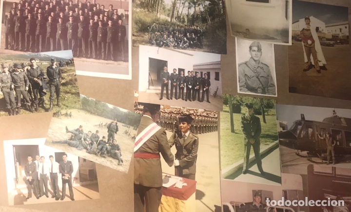 Militaria: LOTE 14 FOTOGRAFIAS ANTIGUAS MILITAR MILI SOLDADO EJERCITO COLOR BLANCO NEGRO HOMBRE ARMADA - Foto 2 - 266286363