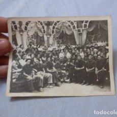 Militaria: * ANTIGUA FOTOGRAFIA DE FALANGE DE ALELLA EN 1939, GUERRA CIVIL. ZX. Lote 266504608