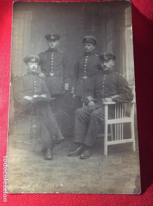 ORIGINAL FOTO MILITAR (Militar - Fotografía Militar - I Guerra Mundial)