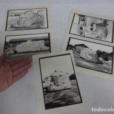 Militaria: LOTE 5 ANTIGUA FOTOGRAFIA DE BLINDADO REPUBLICANO RARO, TROFEO GUERRA CIVIL NACIONAL.. Lote 267285179