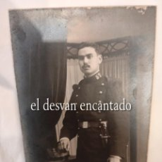 Militaria: GUERRA DE ÁFRICA. FOTO SOLDADO INFANTERIA REGIMIENTO Nº 57. ALONSO FOTÓGRAFO. Lote 268611244