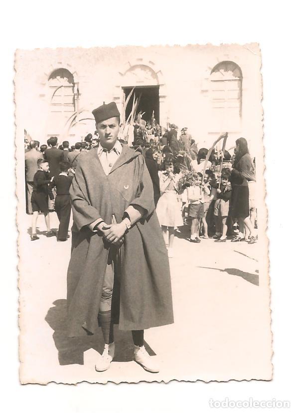 SOLDADO DE REGULARES EN FECHA 6 DE ABRIL DE 1941. DEDICATORIA (Militar - Fotografía Militar - Otros)