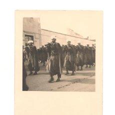Militaria: SOLDADO DE REGULARES EN FECHA 6 DE ENERO DE 1953. DEDICATORIA. Lote 268864149