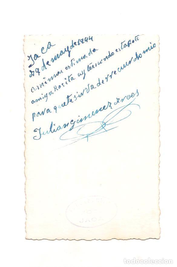 Militaria: SOLDADO ESPAÑOL EN FECHA 9 DE MAYO DE 1944. DEDICATORIA - Foto 2 - 268864609