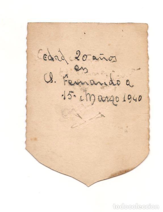 Militaria: SOLDADO DE LA MARINA ESPAÑOLA EN FECHA 15 DE MARZO DE 1940 - Foto 2 - 268865009