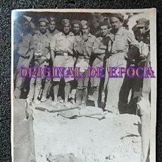 Militaria: (JX-210632)POSTAL FOTOGRAFICA DE ENTIERRO DE UN SOLDADO DEL EJÉRCITO POPULAR EN CAMPAÑA,GUERRA CIVIL. Lote 269115378