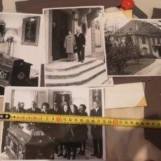 Militaria: ANTIGUO LOTE DE FOTOGRAFÍAS DEL VELATORIO DE ALFONSO XIII EN ESPAÑA POR LA FAMILIA REAL. Lote 269842228