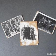 Militaria: 3 FOTOGRAFÍAS DE CARROS DE COMBATE DE CÓRDOBA - AÑOS 50. Lote 270160003