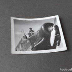 Militaria: FOTOGRAFÍA DE LOS AÑOS 50 DE UN JUNKERS 54. Lote 270163593