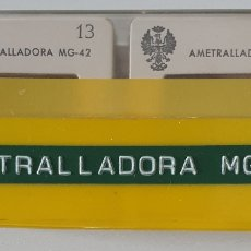 Militaria: ANTIGUO LOTE 26 DIAPOSITIVAS AMETRALLADORA MG 42. Lote 271698983