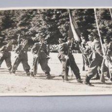 Militaria: JURA DE BANDERA AÑO 1946 LA GRANJA (SEGOVIA). Lote 272120823