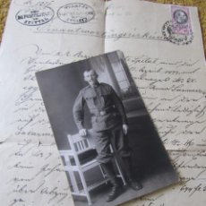 Militaria: RETRATO, FOTOGRAFIA DE UN SOLDADO AUSTROHUNGARO EN FORMATO TARJETA POSTAL, 1ª GUERRA MUNDIAL 1914/18. Lote 274599243